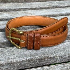 Coach British Tan Leather Belt #6600 Size 32/80